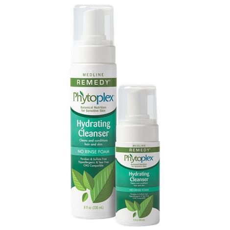 Medline Remedy Phytoplex Hydrating Cleansing Foam,4oz,24/Case,MSC092104