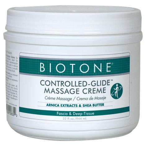 Biotone Controlled-Glide Massage Cream,14oz (414ml),Each,NC70247-1