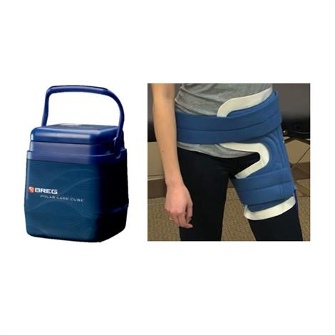 Breg Polar Care Cube Hip Cold Therapy System,Cold Therapy System with WrapOn Hip Pad,Each,10713