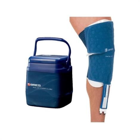 Breg Polar Care Cube Knee Cold Therapy System,PC Cube with WrapOn Knee Large Pad,Each,10706