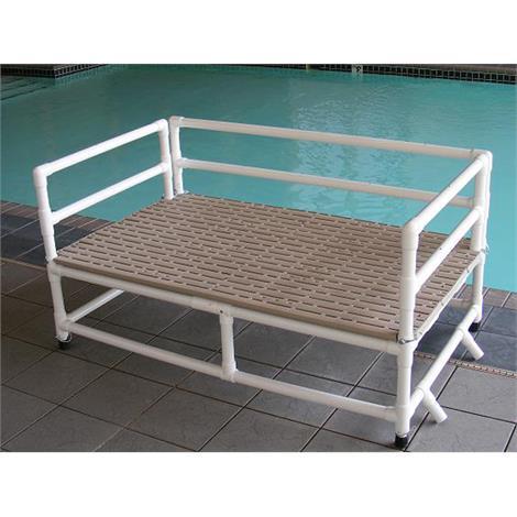 "Aqua Creek Swim Training Platform,36"" x 60"" Deck Platform,Each,F-250TTP"