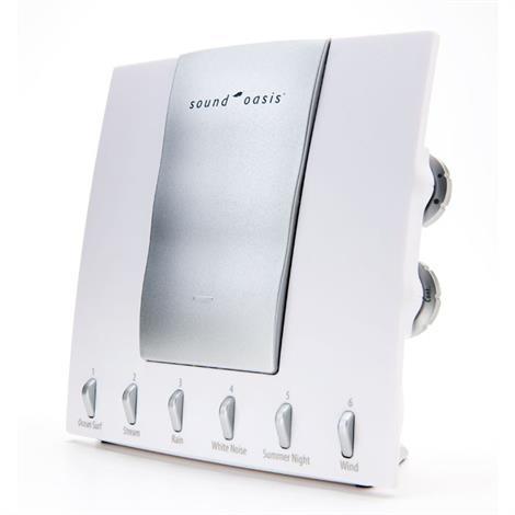 Sound Oasis Sleep Sound Therapy System,Sleep Sound Therapy System,Each,S-550-05