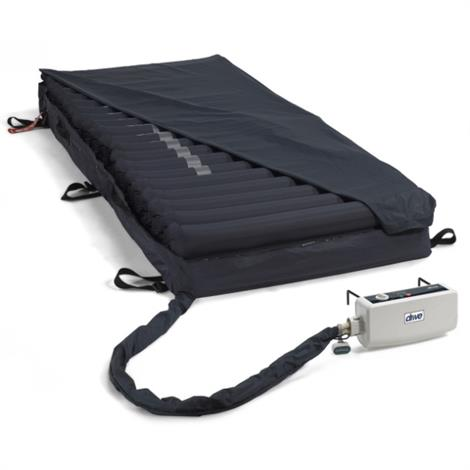 "Drive Med-Aire Melody Alternating Pressure and Low Air Loss Mattress Replacement System,35""W X 80""L X 8""H,Each,14026"