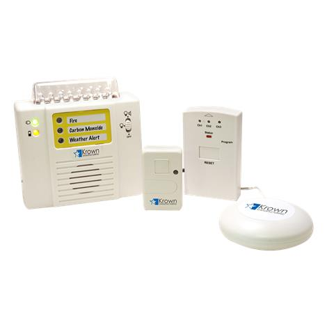 Krown KA300 Wireless Alarm Monitoring System,Alarm Monitoring System Kit,Each,KA300System