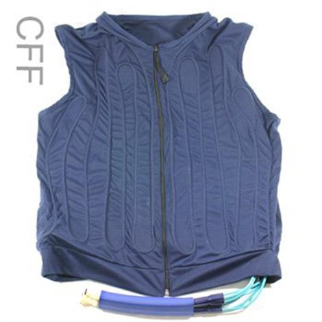Polar Cool Flow Fitted Adjustable Cooling Vest,Small,Blue,Each,CFF
