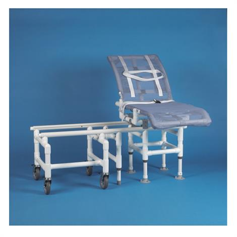 """Duralife DuraGlide Reclining A Level Glide Bath and Commode Transfer System,50""""H x 54""""W x 48""""D,Each,346"""