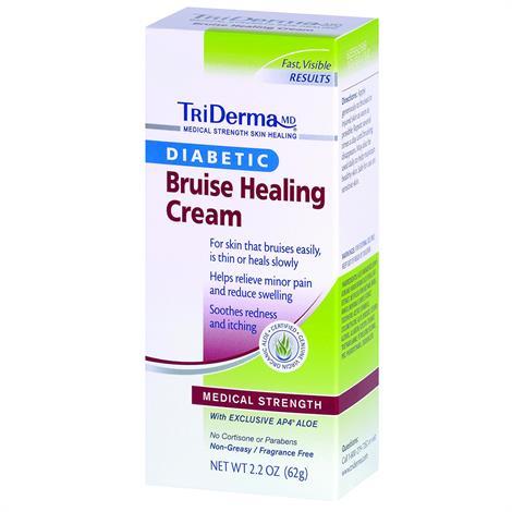 TriDerma Bruise Defense Healing Cream,2.2oz,Tube,Each,65025
