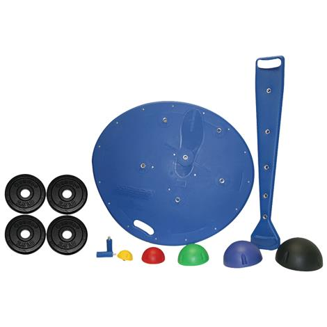 CanDo Multi-Axial Professional Positioning System,Board,5-Ball Set,2 Weight Rods,Each,#10-1730