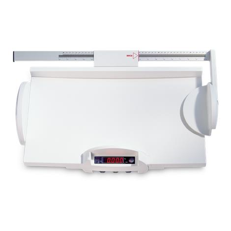 "Seca Electronic Scale with Fine Graduation,21.7""W x 6.4""H x 12.6""D (550mm x 163mm x 320mm),Each,SECA728"
