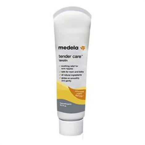 Medela Tender Care Sore Nipple Lotion,Lanolin,0.3 oz Tube,Each,87121
