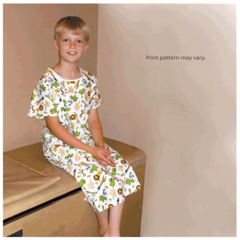 Core Youth Patient Gown,Large/X-Large,Size: 8 to 10,Each,PRO-959