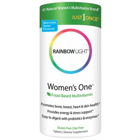 Rainbow Light Womens One Multi ,1x90 Tablets,Each,81287