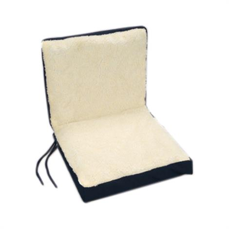 """Complete Medical Dual Comfort Wheelchair Cushion,16"""" D x 18"""" W x 4"""" H,Each,CP1618"""