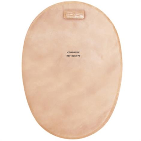"""ConvaTec Esteem synergy Two-Piece Closed Mini Pouch Tan,1-7/8"""" Cut-to-Fit,30/Pack,416781"""