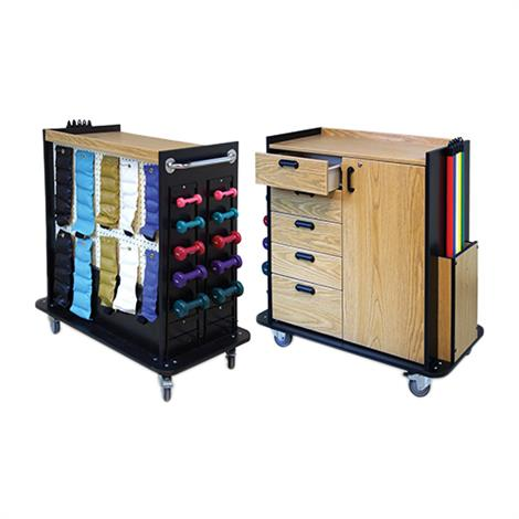 Huasmann Mobile Therapy Station,Accessorised Therapy Station,Each,5556-100