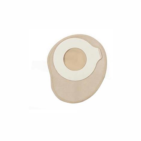 ConvaTec Esteem synergy Two-Piece Standard Closed Pouch Tan,1-3/8