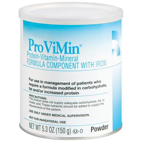 Abbott ProViMin --Mineral Formula Component with Iron,Unflavored,Powder Institutional,5.3oz (150gm),6/Case,50260