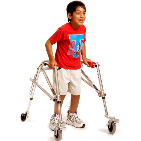 Kaye Posture Control Four Wheel Walker With Front Swivel And Silent Rear Wheel For Children,0,Each,W1BSX