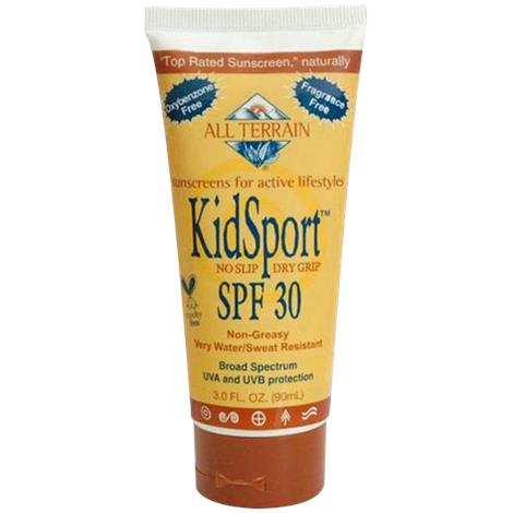 All Terrain KidSport SPF30 Sunscreen Lotion,3oz Tube,Each,90019