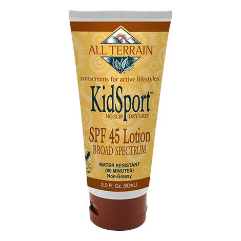 All Terrain KidSport SPF45 Sunscreen Lotion,3oz Tube,Each,ECV1793835