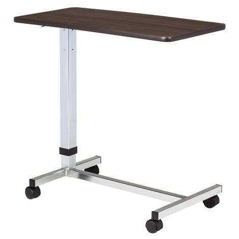 Clinton H-Base Over Bed Table With Laminate Top,Gray Laminate Top,Each,TS-175
