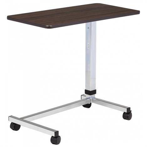Clinton U-Base Over Bed Table With Laminate Top,Gray Laminate Top,Each,TS-165