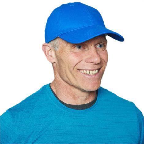 Polar Cool Comfort Baseball Cap,Black,Each,CCBCBLACK