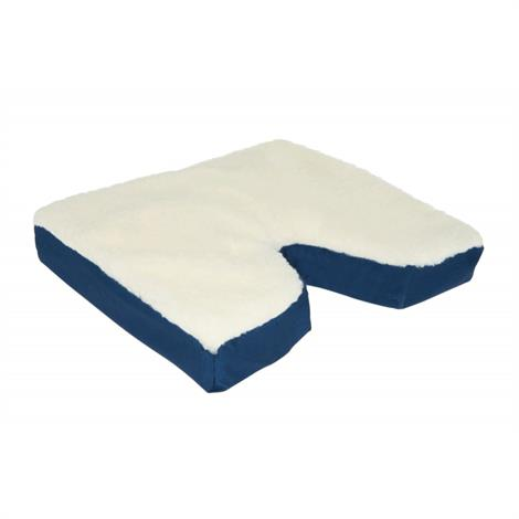 "Complete Medical Coccyx Gel Wheelchair Cushion With Fleece Top,16"" x 18"" x 3"",Each,1988"