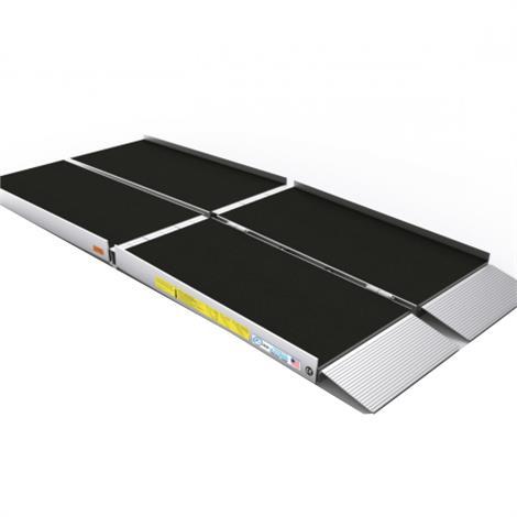 """Ez-Access Suitcase Trifold Advantage Series Ramp,Size: 10ft x 29-1/2"""",Each,SUITCASE TFAS10"""