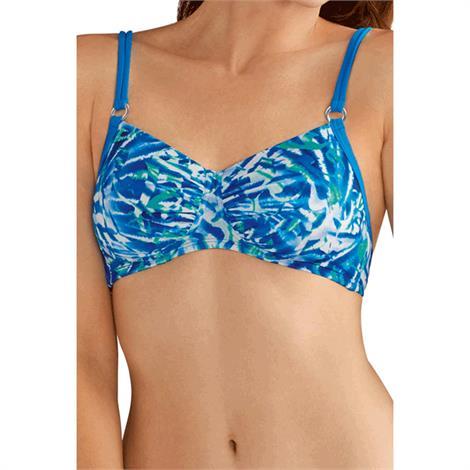 Amoena Curacao Wire-Free Bikini Top,Size - 10D,Each,7114510D