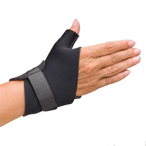 Comfortprene Neoprene Short Thumb And Wrist Wrap,Large,Blue,Each,Nc58607-3