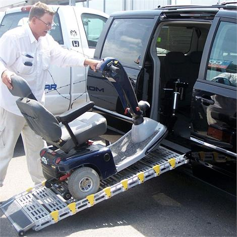 Roll-A-Ramp Manual Mini-Van Folding Ramp