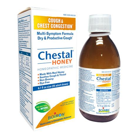 Boiron Adult Chestal Honey Cough Syrup,6.7 Oz,Each,BWA70714