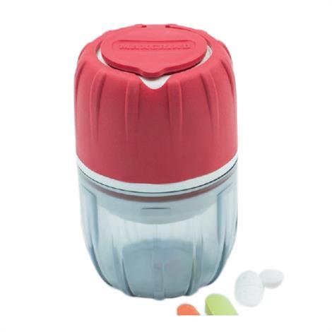 McKesson MAXGRIND Pill Crusher,3-3/8 L X 2-3/16 W Inch,Red,Each,SK-0900-MAXGRIND-RED