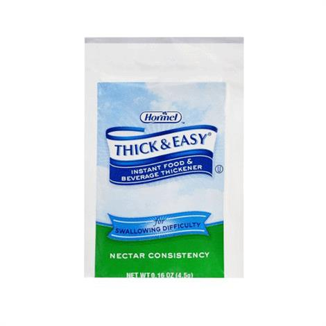 Hormel Thick And Easy Instant Food & Beverage Thickener With Nectar Consistency,4.5gm Packet,Nectar,100/Pack,21929