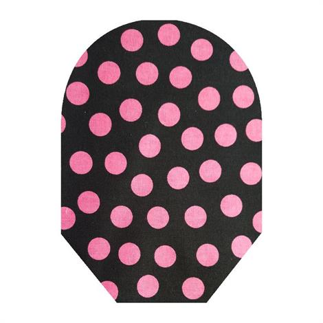 C&S Daily Wear Close End Pink Polka Dot Ostomy Pouch Cover,Medium,Each,30221-M