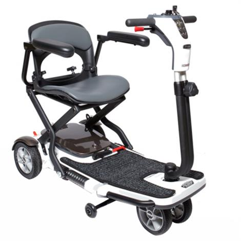 Pride Go-Go Folding Four Wheel Travel Mobility Scooter,0,Each,S19
