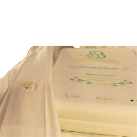 """Sleep and Beyond Organic Duvet Cover,Full/Queen,86"""" x 86"""",Each,OQDCI"""