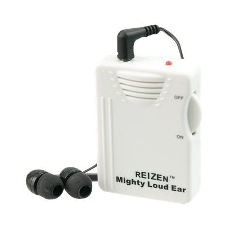 Reizen Mighty Loud Ear 120dB Personal Sound Hearing Amplifier,1.75