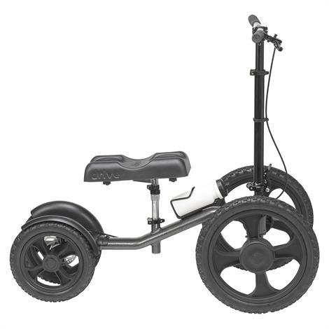 Drive All-Terrain Knee Walker,Silver Vein Color,Each,990X