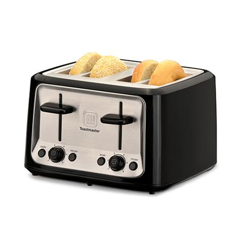 Toastmaster 4-Slice Cool Touch Toaster,4-Slice Cool Touch Toaster,Each,TM-46TS