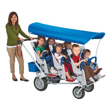 Angeles Runabout 6 Passenger Stroller,69 x 30 x 51 Inch,6 Passenger Stroller,Each,AFB6850F