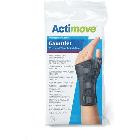 Actimove Gauntlet Wrist & Thumb Stabilizer,Large/X-Large,Each,7285991
