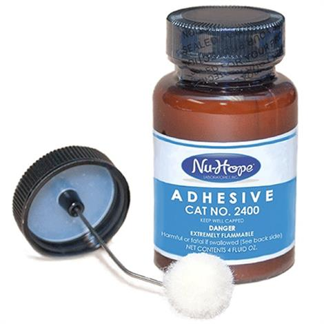 Nu-Hope Adhesive with Applicator,4oz Bottle,Each,2400