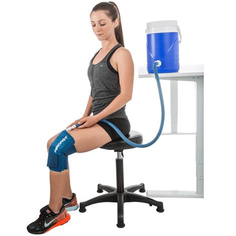 Aircast Knee Cryo/Cuff with Gravity Cooler,Large Knee Cryo/Cuff with Gravity Cooler,Each,11B