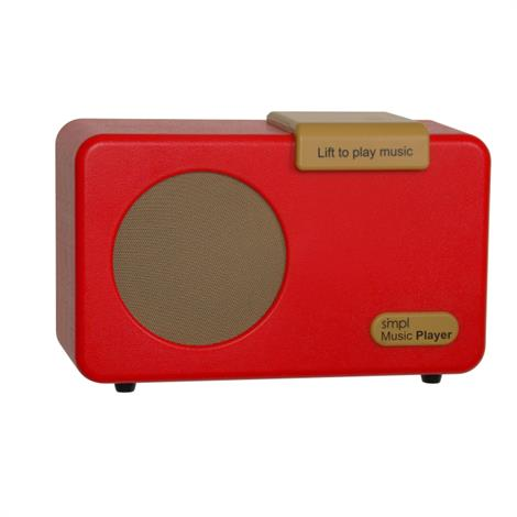 SMPL Music Player,Red,Each,HC-SMPL/MP