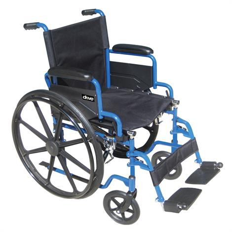 Drive Blue Streak Single Axle Wheelchair,0,Each,0