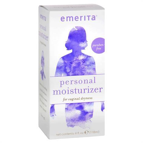 Emerita Feminine Personal Moisturizer,4 oz,Each,922104