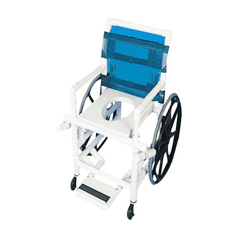 Healthline Medical Shower Commode Wheelchair,0,Each,SWC