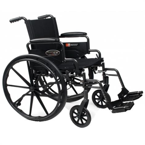 Graham-Field Everest and Jennings Traveler L4 Manual Folding Wheelchair,0,Each,3F020120